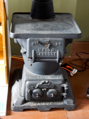 Union Caboose stove.