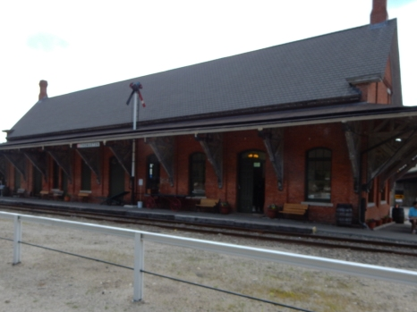 Thomaston Station. Beautifully restored and home to the Naugatuck Railroad