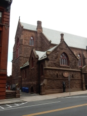This is the back of the church