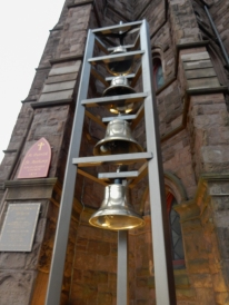 The bell tower was installed in 2014