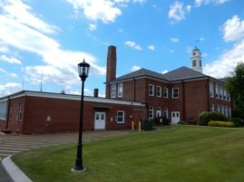 Windsor Locks Town Hall - looking northeast to southwest