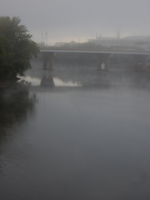 Looking south from the Bulkeley Bridge