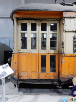 This trolley is about 120 years old