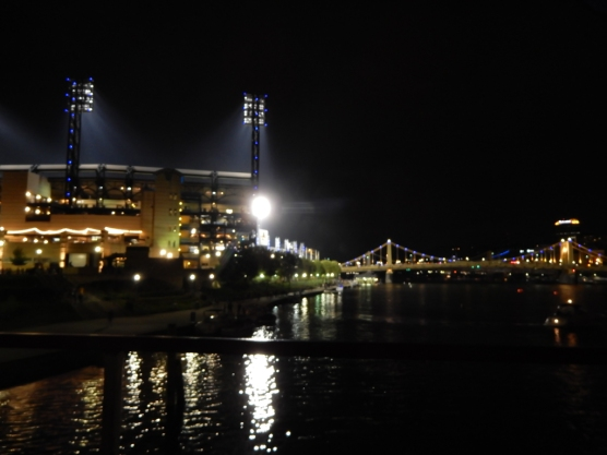 Leaving the prettiest ball park on the planet