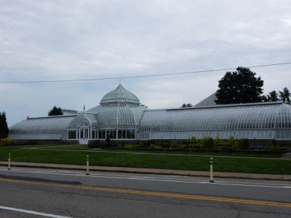 This is the left side of Phipps Conservatory