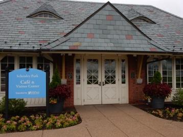 Schendley Park visitor center.