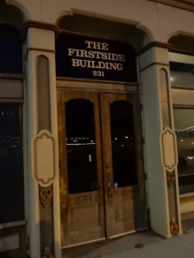 The Firstside Building.has a pretty nice entrance.