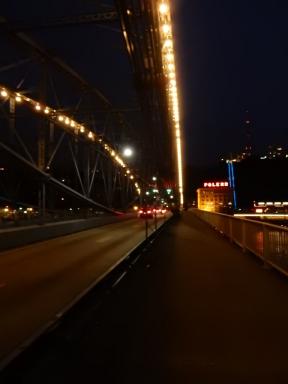 On the Smithfield St. Bridge
