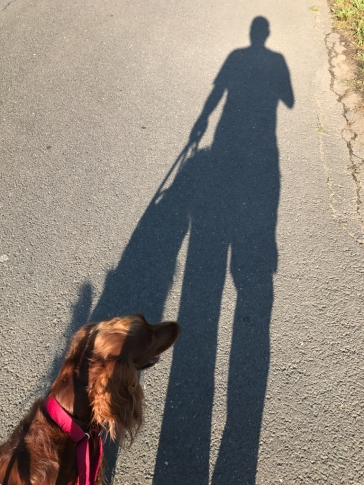 Me and my shadow.