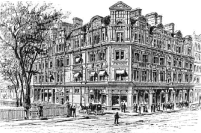 An illustration of the Goodwin in its day.