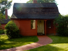 A side door to Windsor Historical Society