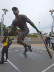 Statue of Roberto Clemente at PNC Park