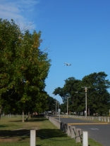 Maddie's park is well within the landing path of BDL.