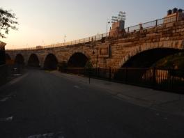 Stone Arch Bridge - restored for pedestrian use.