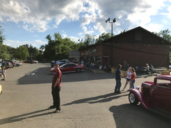 Bart's has a car show every week during the summer.