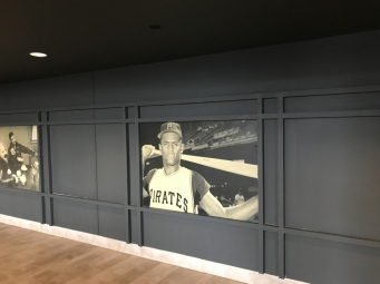 Inside the club level at Dunkin' Donuts Park