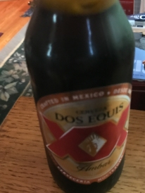 Dos Equis - I think he found a way to make the pulled-pork even better.