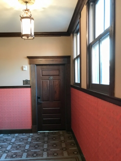 Door to one of the historic hotel rooms. If I ever go back to Minneapolis, this is where I'm staying.