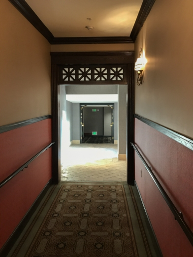 Entrance to the historic portion of the Renaissance Hotel