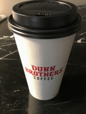 Let's try this again. It was good coffee, and it was two minutes from my room.