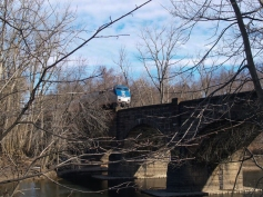 When I take the train, that's the train I take. I've been over this bridge and under it in a canoe.