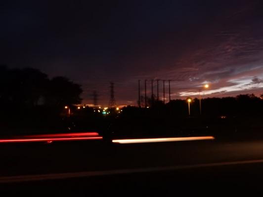 I like it when I capture headlight and taillight streaks.