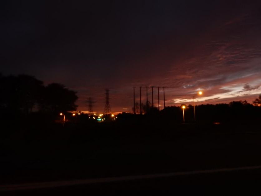 Sunrise is starting