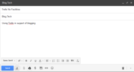 These email will add a card to the Landing Pad list in the No Facilities Board