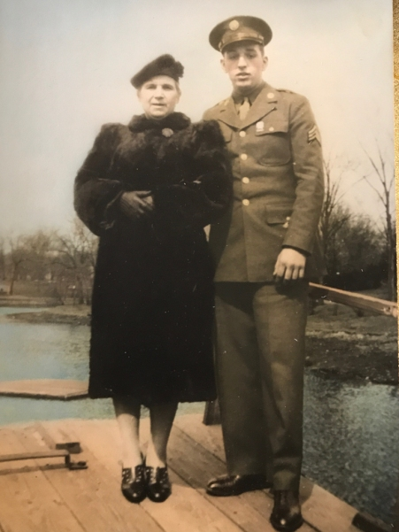 My grandmother and my dad