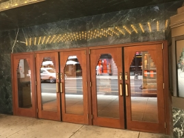Paramount Theater entrance