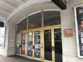 Shubert Theater, up close.