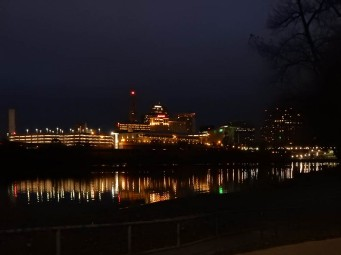 Hartford from Great River Park