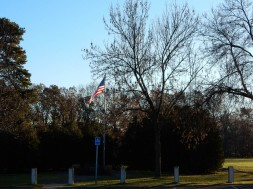 We had lost the flag until one candidate for First Selectman criticized the other for the empty pole.