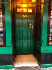 "Front door to ""The TAM"" - not much to say, except - its green! (STNG reference)"