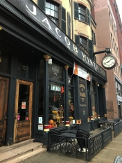 One o my favorite doors in Boston. Jacob Wirth's - German food and lots of beer on tap. I also like the clock - 10 after W seems like a great time for a beer.