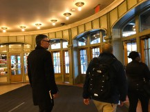 On my way out of Grand Central Terminal in NYC.