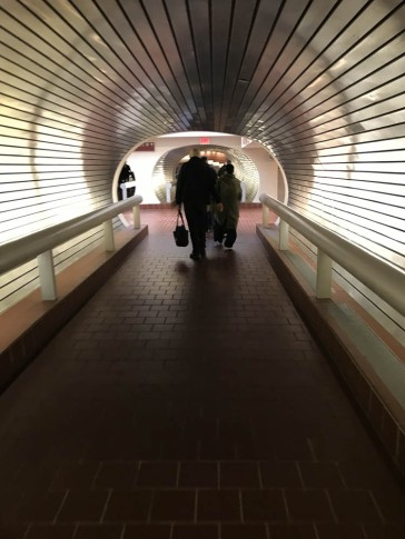 Heading to track #12 - Union Station, New Haven, CT