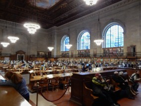 Inside the reading room