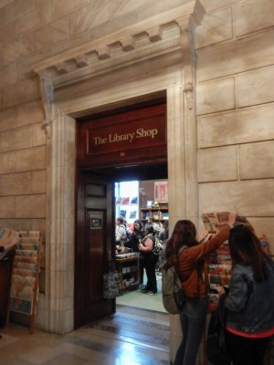 The Library Shop.