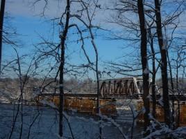 Railroad bridge over Connecticut River