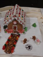 """Nothing says """"welcome to our house"""" like a gumdrop walkway."""