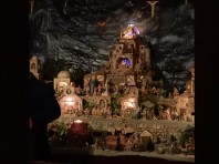 Many Nativity scenes for viewing