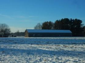 North central Connecticut tobacco barn