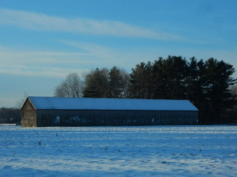 Northern CT tobacco barn