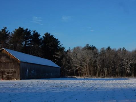 Northern CT tobacco barn