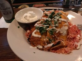 Shrimp Enchiladas - these were very good