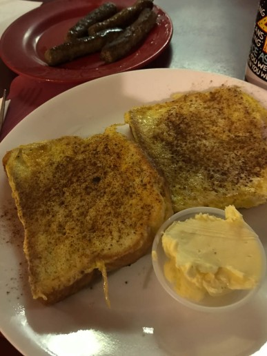 I stopped at Maddie's to pick up a sandwich for lunch, but the French Toast looked too good.