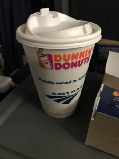 And there it is - Mmmmm Dunkin