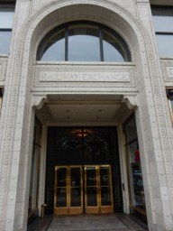 Railway Exchange Building - this is where Daniel Burnham and his staff made the 1909 Plan of Chicago.