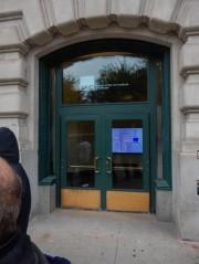Doors to the Chicago Art Institute.